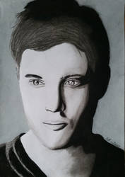 Jensen Ackles, charcoal by Dees4life