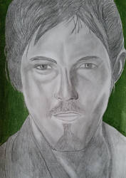 Daryl Dixon graphite by Dees4life