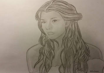Natalie Dormer (graphite) by Dees4life