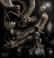 Entering the spirit world by monstergandalf