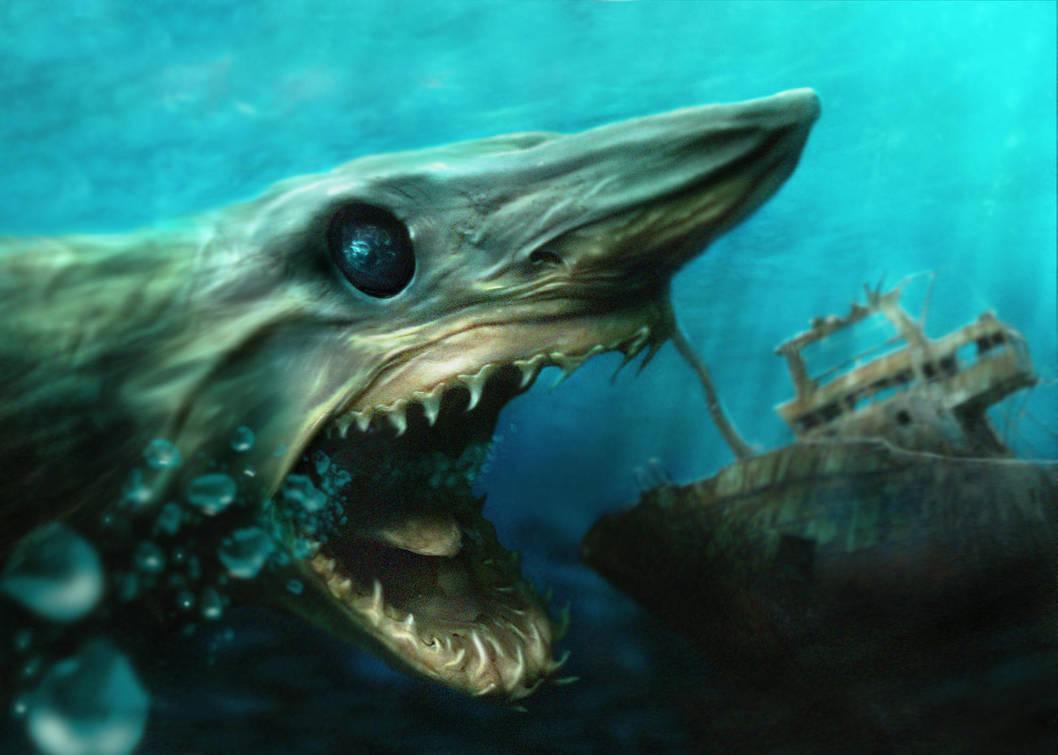Shark by monstergandalf