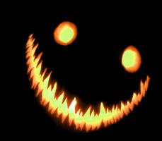 Pumpkin Smile by AkumaChou