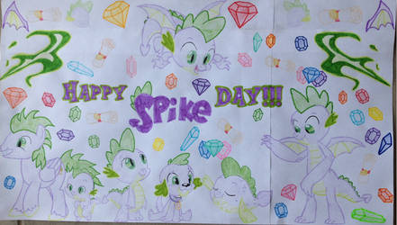 Happy Spike Day by lachlancarr1996