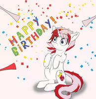 Pepper's Birthday Suprise by BPDarkStar