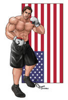 American Fighter - Commission by FranjoGutierrez