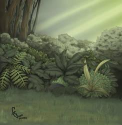 Background Jungle 5 by FranjoGutierrez