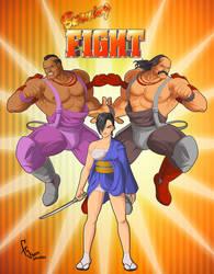 Burning Fight - Enemies by FranjoGutierrez