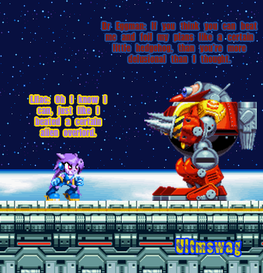 Lilac Vs Eggman In The Death Egg Robot By Ultmswag On Deviantart