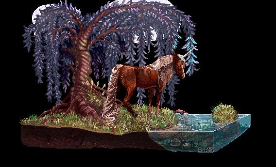 Commission|Unicorn by Asano-nee