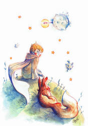 The Little Prince by Asano-nee