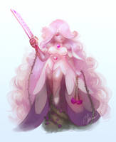 Steven Universe: Rose/Amethyst by Asano-nee