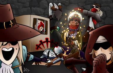 Darkest Dungeon: Money Party by Kutori