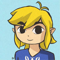 Gift: Toon Link by Amandinde