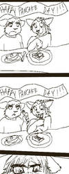 PANCAKE DAY by Meefs