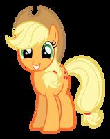 Applejack Smiling by Lonely-Hunter