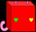 my new kitty cube body by TheNewBGGAMING
