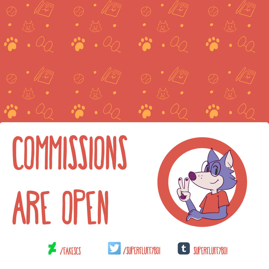 Commissions banner gringo 1 (square) by fakescs