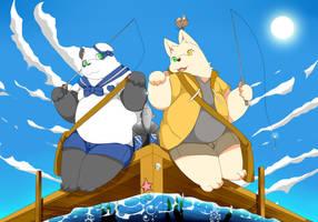 Fishing by RollSushi