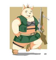 Hunter girl by RollSushi