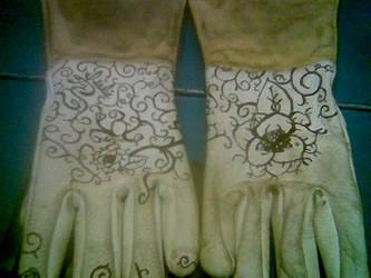 Glove Art 1 by Salquendor