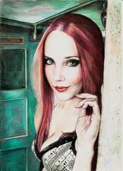 Simone Simons by Pevansy
