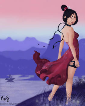 Disney meets Nintendo: Mulan by glimpen
