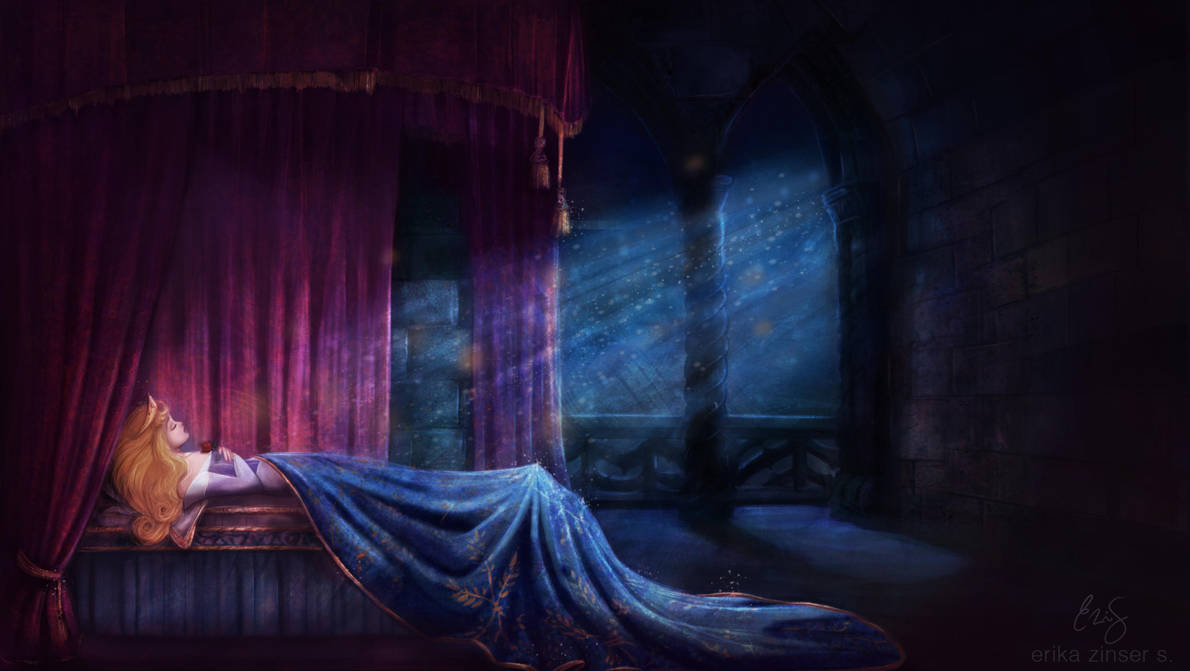 Sleep Until Awakened by True Love's Kiss by glimpen