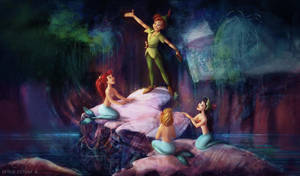 The Mermaid Lagoon by glimpen