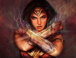 Diana, Princess of Themyscira by glimpen