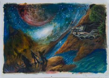 Mass Effect fan art by DefectEngender