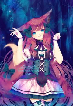Enchanted Fox by Luminosity-Shade