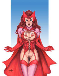 Erotic Earth Scarlet Witch - Winner 2009 by TCatt