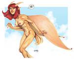 Neo Monster Island Kaiju Girl Danielle by TCatt