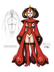 Erotic Earth Queen Amidala by TCatt