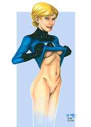 T.Catt's 20th Anniversary: Invisible Woman by TCatt