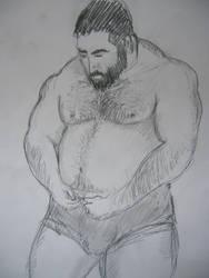 Big dude study by garrix