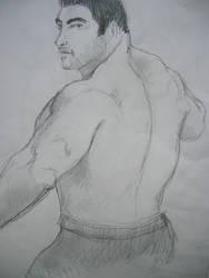 Back sketch by garrix