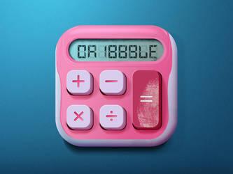 Calculator Icon by indioglossia