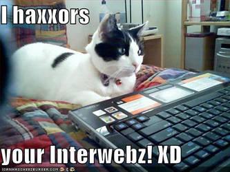 HaxxorCat by IamAnAnimefan001