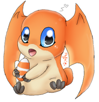 Patamon ~ c: by AquaPatamon