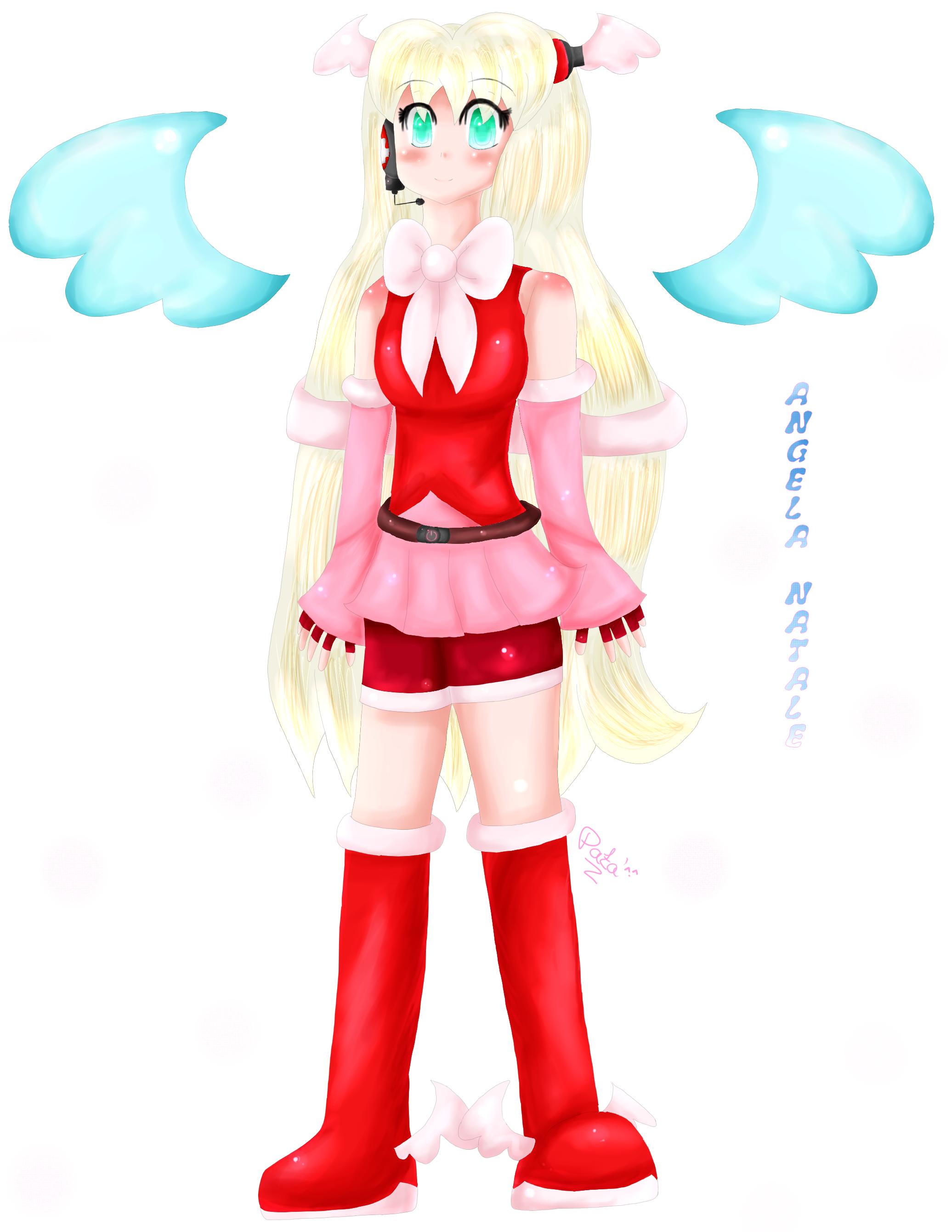 OC_Vocaloid : Angela_Natale by AquaPatamon