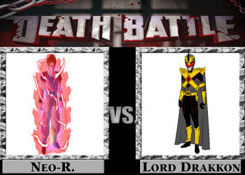 DEATH BATTLE: Neo-R VS Lord Drakkon by Neo-RedRanger