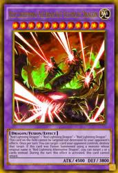 Red Lightning Alternative Ultimate Dragon by Neo-RedRanger