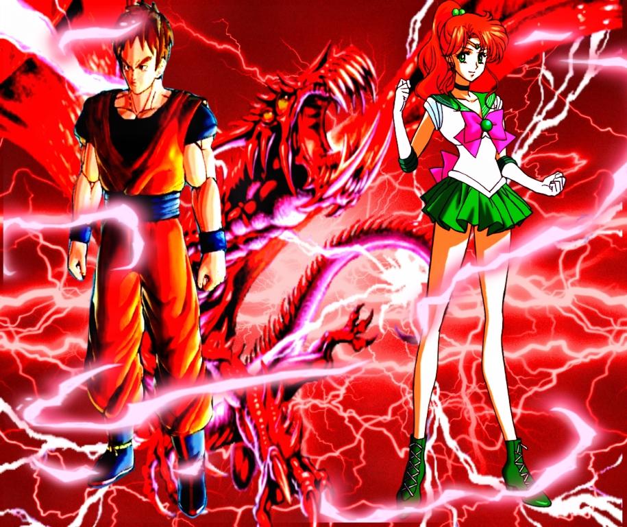Red Lightning Bonds (artwork) by Neo-RedRanger
