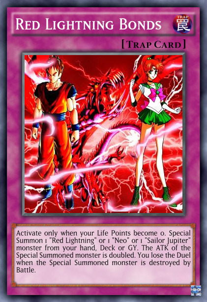 Red Lightning Bonds by Neo-RedRanger