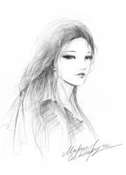 Girl by Maria-Sandary