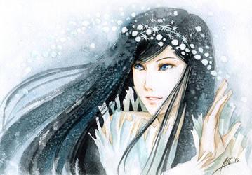 Lady Zima by Maria-Sandary