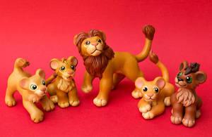 Lion King Group by SculptedPups
