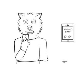Mobile phobia (vent, WIP) by Dogsparadise
