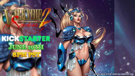 Valkyrie Saviors 2 Kickstarter June 19th! by Mountolympuscomics